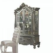 ACME Versailles Curio Cabinet - 66838 - Antique Platinum Product Image