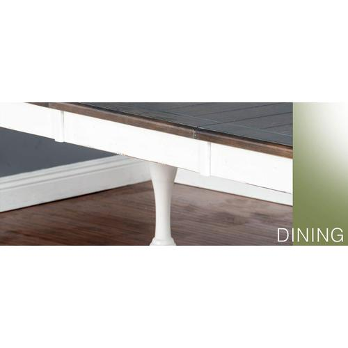 Bourbon County Extension Dining Table