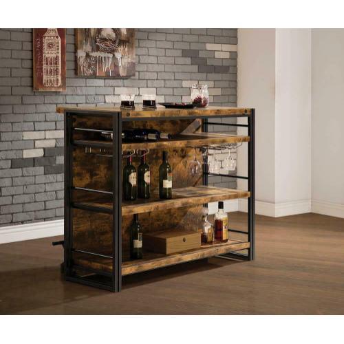 Coaster - Industrial Antique Nutmeg Bar Unit
