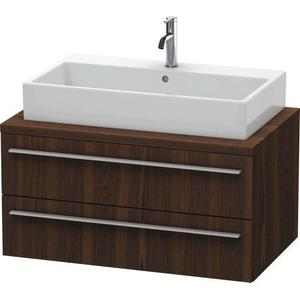 Vanity Unit For Console, Brushed Walnut (real Wood Veneer)