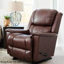 Stratus Leather Rocking Recliner