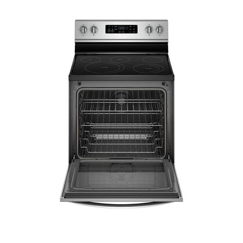 Whirlpool Canada - 6.4 Cu. Ft. Freestanding Electric Range with Frozen Bake™ Technology