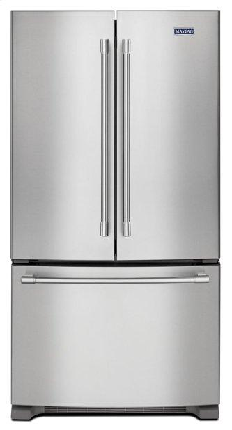 Maytag™ 36- Inch Wide Counter Depth French Door Refrigerator - 20 Cu. Ft.