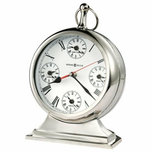 Howard Miller Global Time Mantel Clock 635212