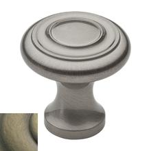 View Product - Satin Brass and Black Dominion Knob