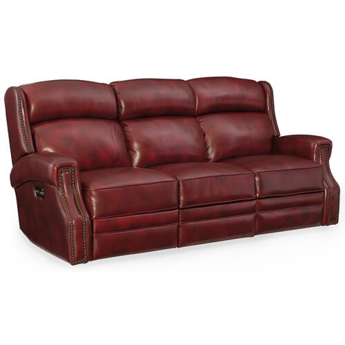 Hooker Furniture - Carlisle Power Motion Sofa w/ Power Headrest