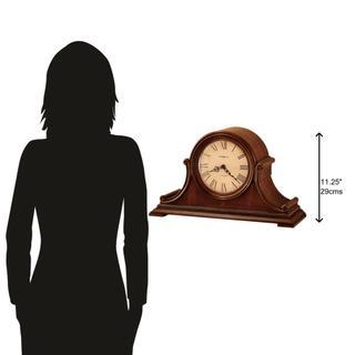 See Details - Howard Miller Hampton Mantel Clock 630150