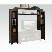 ACME Halden Entertainment Center - 91090 KIT - Merlot