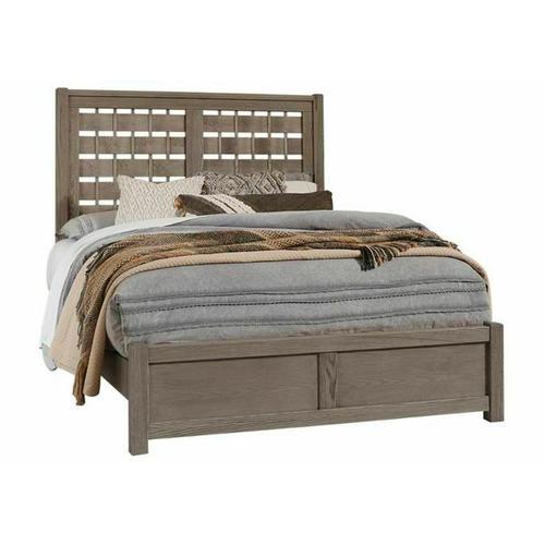 Queen - Horizontal Weave Bed