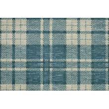 Elegance Plaid Chic Pldch Teal Broadloom Carpet