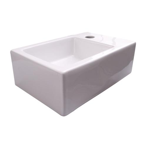 Avilla Wall-Hung Basin - Single-Hole Right