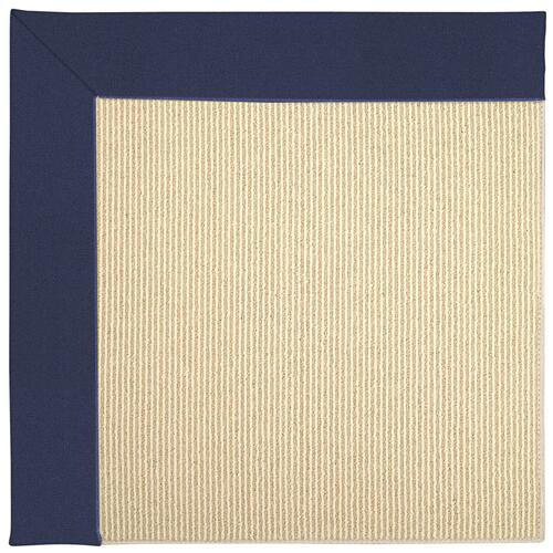 Creative Concepts-Beach Sisal Canvas Royal Navy Machine Tufted Rugs