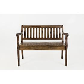 See Details - Artisan's Craft Storage Bench - Dakota Oak
