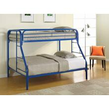 View Product - Morgan Twin-over-full Blue Bunk Bed