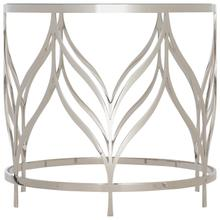 Calista Metal Round Accent Table