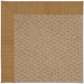 Creative Concepts-Raffia Dupione Caramel Machine Tufted Rugs