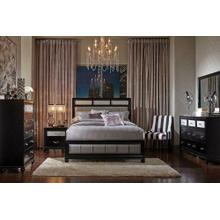 Barzini Transitional King Four-piece Bedroom Set