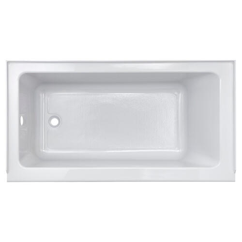 Studio 60 x 30-inch Bathtub with Apron  Right Drain  American Standard - Arctic White