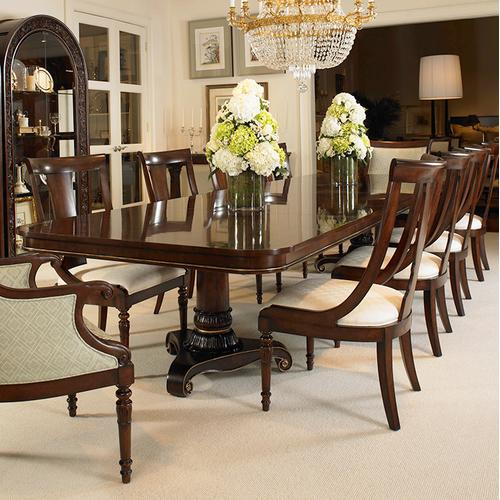 Wellington Court Double Ped Dining Table