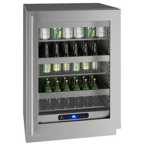 "Hre524 24"" Refrigerator With Stainless Frame Finish (115 V/60 Hz Volts /60 Hz Hz)"