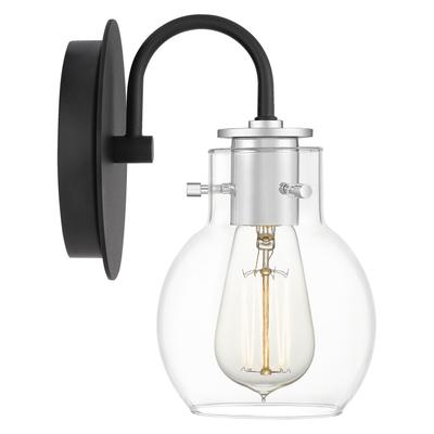 Andrews Wall Sconce in Earth Black