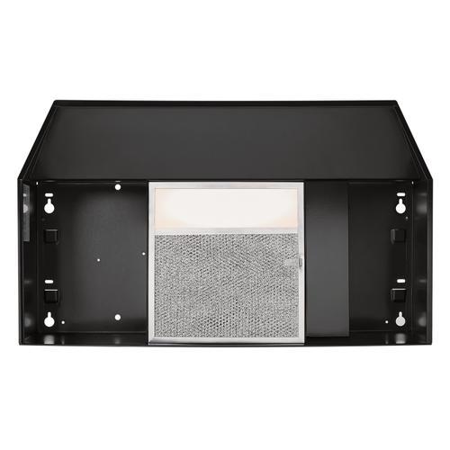 Broan® 30-Inch Convertible Under-Cabinet Range Hood, Black