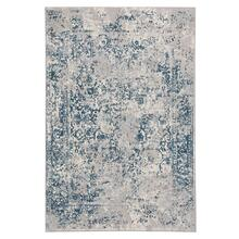 Milagros Blue Steel Machine Woven Rugs