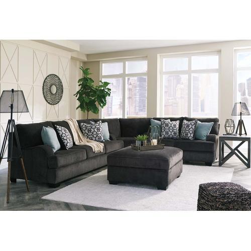 Charenton Sofa Charcoal