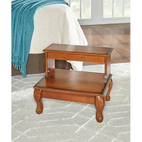 Gallery - Attic Cherry Antique Cherry Bed Steps With Drawer