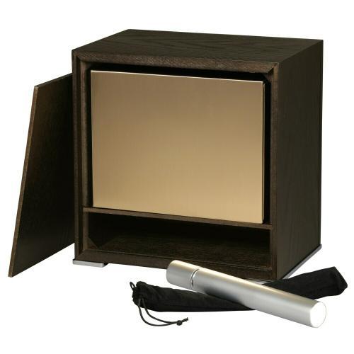 800-198 Sophisticate Mantel Clock Urn Chest