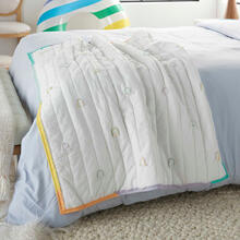 "Product Image - Plush Cr365 Multicolor 36"" X 48"" Quilt"