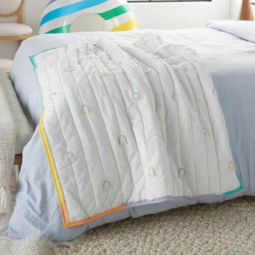 "Plush Cr365 Multicolor 36"" X 48"" Quilt"