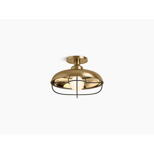 Kohler - Moderne Brushed Gold Flush-mount Light