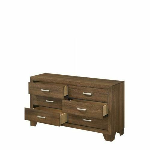 ACME Miquell Dresser - 28055 - Transitional - Veneer (Paper, LVB), PB, MDF, Chipboard - Oak