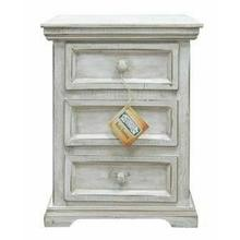 See Details - Small White Coliseo Night Stand