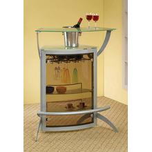 See Details - Contemporary Recreation Room Bar Unit