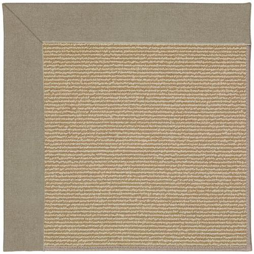Capel Rugs - Creative Concepts-Sisal Canvas Taupe - Rectangle - 8' x 10'