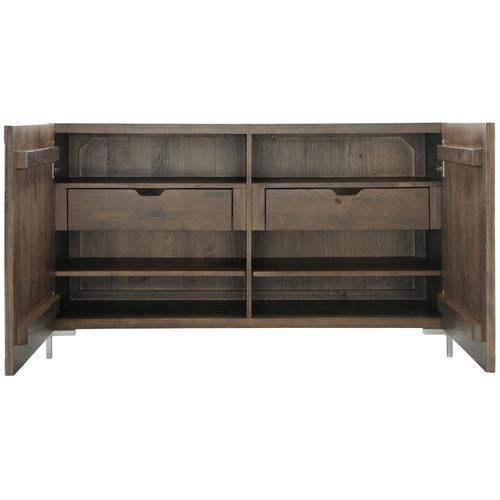 Amherst Buffet in Sable Brown, Gray Mist