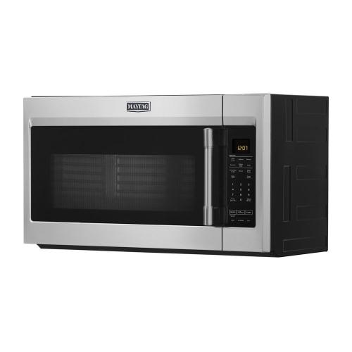 Maytag - Over-the-Range Microwave with Dual Crisp feature - 1.9 cu. ft.