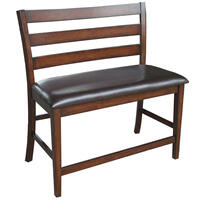 Kona Ladder Counter Bench  Raisin Product Image