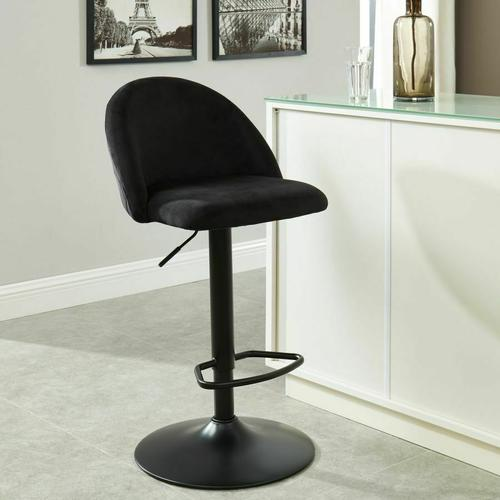 Worldwide Homefurnishings - Sataro Air Lift Stool in Black