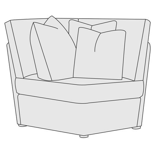 Bernhardt - Sydney Corner Chair