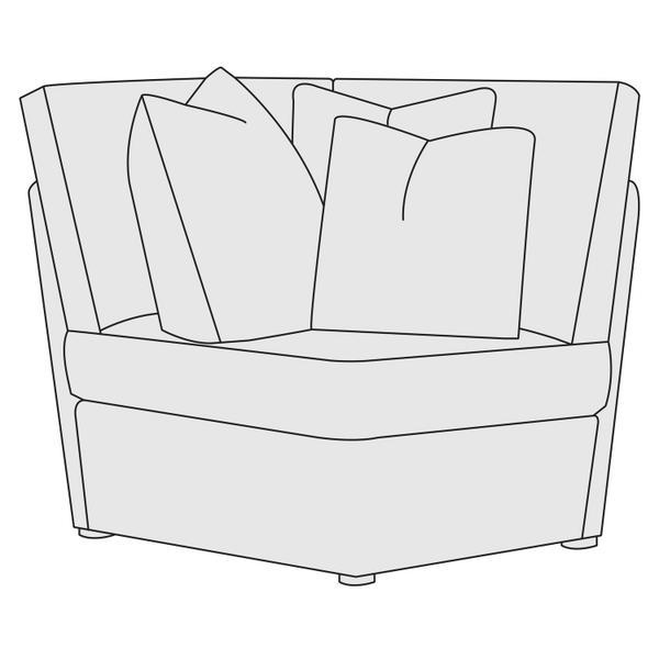 See Details - Sydney Corner Chair