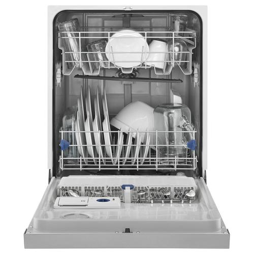 Whirlpool - ENERGY STAR® certified dishwasher with Sensor cycle White