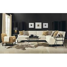 Crawford Sectional in #44 Antique Nickel