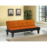 ACME Hamar Adjustable Sofa - 57029 - Orange Flannel Fabric Product Image