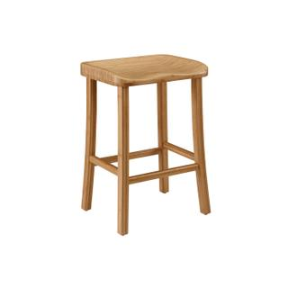 See Details - Tulip Counter Height Stool, Caramelized, (Set of 2)