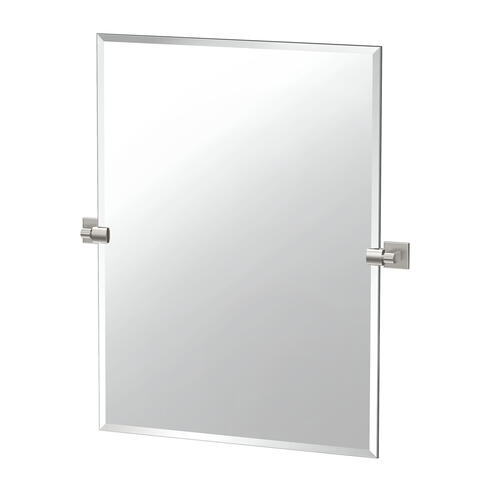Mode Rectangle Mirror in Satin Nickel