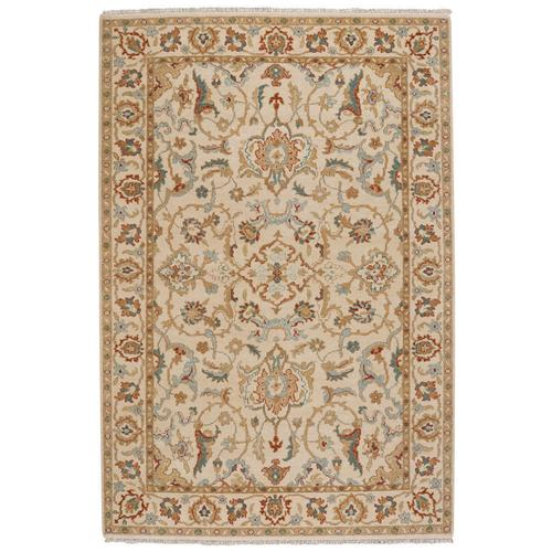 Ashia Ivory Multi Hand Knotted Rugs