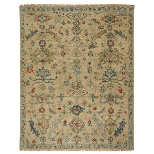 Charise-Isfahan Sand - Rectangle - 3' x 5'